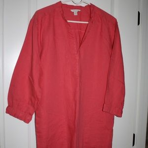 Garnet Hill linen dress